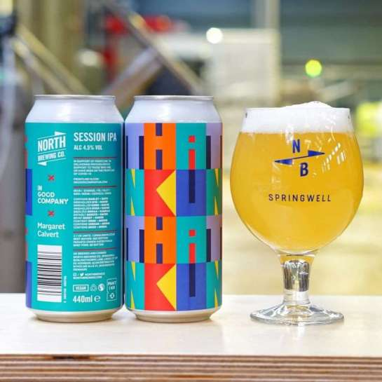 North X In Good Company X Margaret Calvert Session IPA